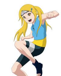 Naruto OC - Mokushi Risa (genin) by ichicchi