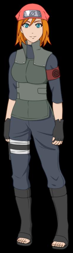 Naruto OC - Tachibana Suzume (Konoha Uniform) by ichicchi