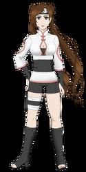 Naruto OC - Okazaki Umeko (remake) by ichicchi