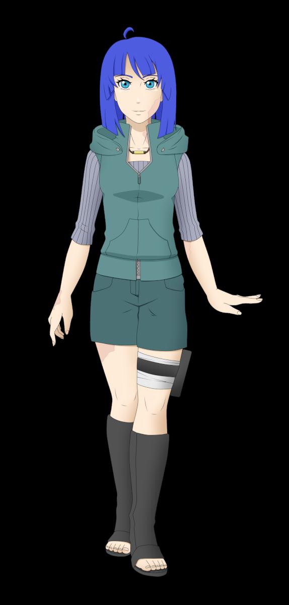 Naruto OC - Yarui Fujiko (ver2) by ichicchi
