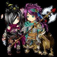 Almira and Cirius by AngieZu