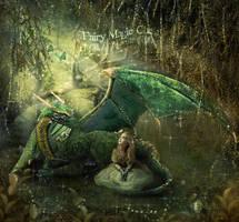 Green dragon by AngelesRR