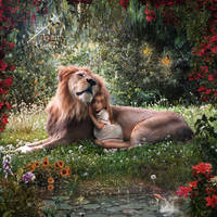 Tender friendship by AngelesRR