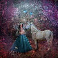 My little Unicorn by AngelesRR