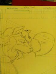 Lady Star - sketch by SingingMollusk