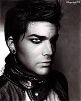 Adam Lambert V-Man portrait by topazholly90