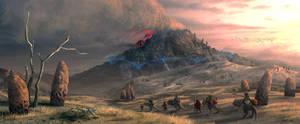 Red Mountain by AlexeyRudikov