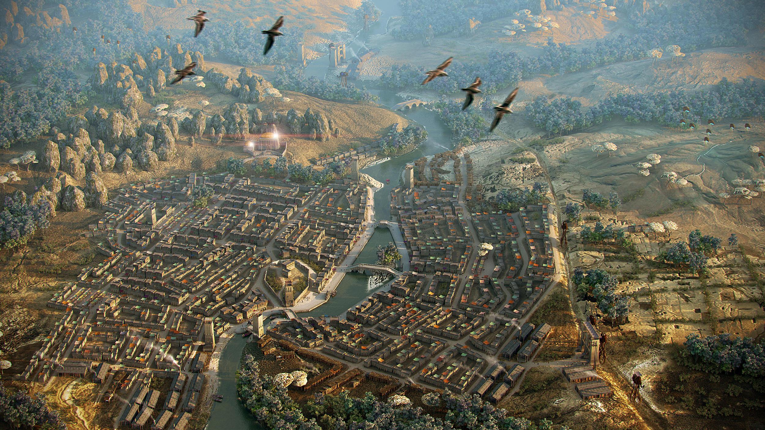 Balmora. Aerial view by AlexeyRudikov