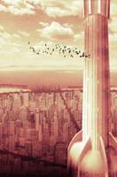 White gold tower by AlexeyRudikov