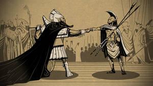 Two generals by AlexeyRudikov