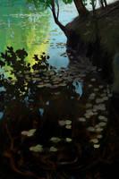 Mystical deep by AlexeyRudikov
