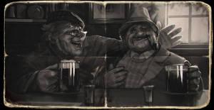 Old friends by AlexeyRudikov