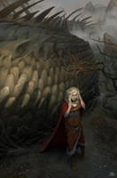 The glance of Glaurung by AlexeyRudikov