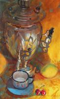 The disappearing lemon by AlexeyRudikov