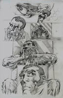 Avengers 16.1 Page 1 Pencils by NealAdams
