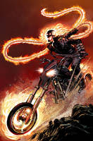 Ghost Rider Alternate Cover by NealAdams