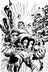 Hulk Alternate Cover by NealAdams