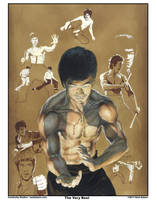 Bruce Lee by NealAdams