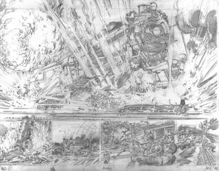 Batman Pencils 2 by NealAdams