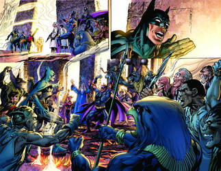 Batman 11 Interior Art by NealAdams