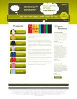 Tshirt Website Design 2 by evomaya