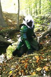 Drizzt Do'urden Ranger by LadyTwinkle