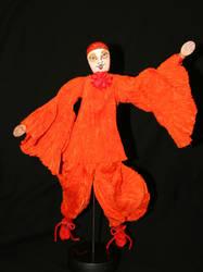 red pierot by LadyTwinkle
