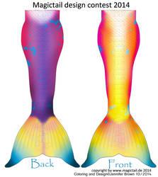 Magictail mermaid design 2014 by LadyTwinkle