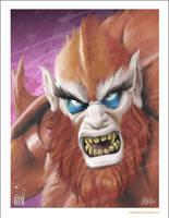 Beastman by soonergriff