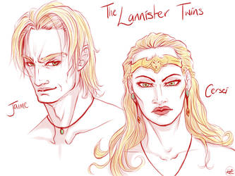 The Lannister Twins by RZ-Seven