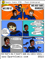 Spark Comic #78 - Post-Undergrad by SuperSparkplug