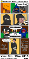 Spark Comic Bonus - Election 2015 by SuperSparkplug