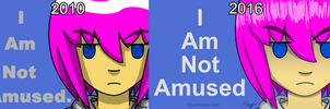 I Am Not Amused - Then Vs Now by SuperSparkplug