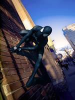 Black Suit Spider-Man by SuperSparkplug