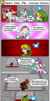 Spark Comic #96 - Colored Visions by SuperSparkplug