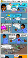 Spark Comic #100 - Spark The World by SuperSparkplug