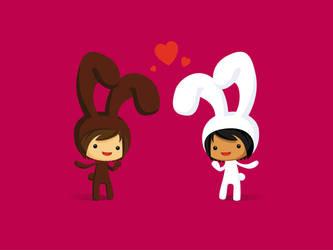 Hunny Bunny by Kurokengo