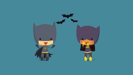 Batman loves Batgirl by Kurokengo