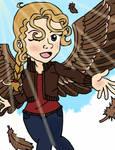She Can Fly! by CaptainMockingjay