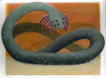 australian sandworm by SerenityDisrupt