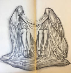 Two figures by CeliaAcelia