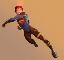 Superboy by themightyjbowski