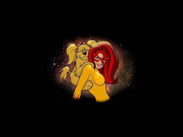 Firestar And Miss Lyons by themightyjbowski