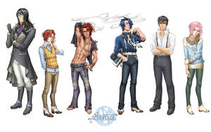 Teahouse Cast Wallpaper 1440x900 by coloradogirl86