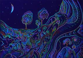 Cosmic colours by itokashi