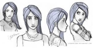 Daughter of Smoke and Bone - Karou by leabharlann
