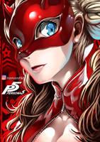 Persona 5 Ann Takamaki Fanart - HensenFM by HensenFM