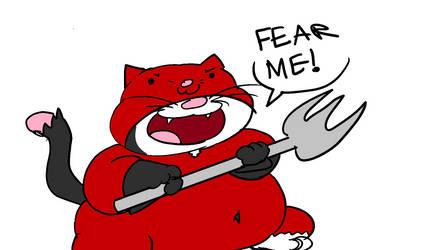 Wannabe Cat Villain by BlastoiseAnimator