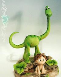 the good dinosaur by prok-art