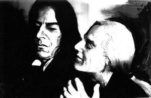 Lucius and Snape: Whisper by ElenaTria